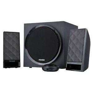 Microlab M850 2.1 Subwoofer Speakers for PC and Multimedia