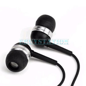 IN EAR HEADPHONES EARPHONES FOR IPHONE 4 4S 3GS CREATIVE IPOD SONY SUMSUNG HTC