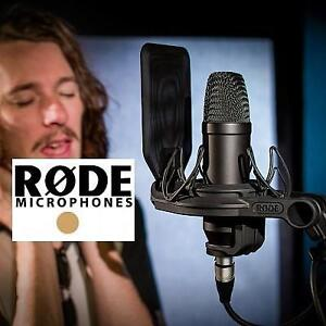 NEW RODE NT1 CONDENSER MICROPHONE NT1KIT 191254549 LARGE DIAPHRAGM CARDIOID