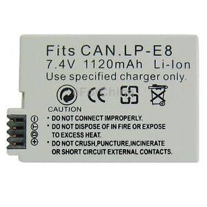 LP-E5,6,8,17 battery,charger for canon T2i T3i T4i T5i T6i 5D 6D