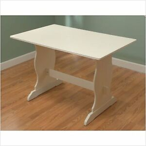 Nook Table Wood/Antique White