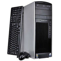 HP xw8400 2xXeon Quad-Core X5355 32GB RAM 500GB HDD Powerful Sys