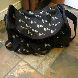 black dance bag Kitchener / Waterloo Kitchener Area image 1