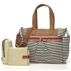 Babymel stripe changing bag