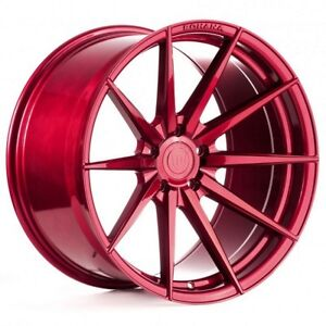 MAGS ROUES ROHANA RF1 GLOSS RED 20X10 FOR AUDI A4 A5 S4 S5