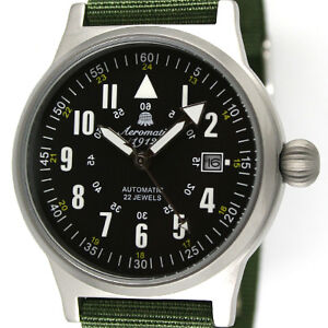 German Military Automatic Observer watch DATE A1336 NEW