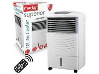 Air Cooler with Remote Control Cold Fan Timer Evaporator Humidifying Water Tank