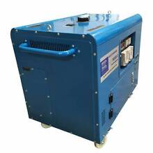 Generator BDP9000 9 KVA Silenced Canopy - 415V 3 Phase Kewdale Belmont Area Preview