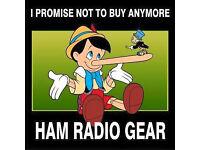 WANTED !! Ham radio equipment / Scanners / Receivers / CB radio's / CASH PAID !!