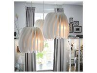 White Light shade/Lamp shade/Brand New IKEA/SKYMNINGEN Pendant lamp, white