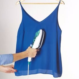 Steam Brush. *Steams, cleans, shines and sanitises *Removes wrinkles and refreshes