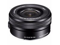 SONY E16-50mm f3.5-5.6 OSS (new from kit)