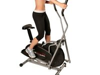 2 in 1 Exercise bike and Crosstrainer