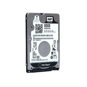 WD Black 500GB 2.5 7200 RPM (WD5000LPLX) - SATA 6Gb/s - Slim Hard Drive