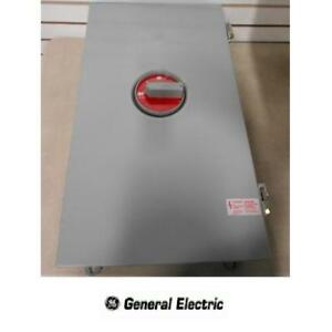 NEW GE CIRCUIT BREAKER ENCLOSURE - 126442615 - GENERAL ELECTRIC NEMA TYPE 12/12K  400 AMP CSA UL BREAKERS ELECTRICAL ...