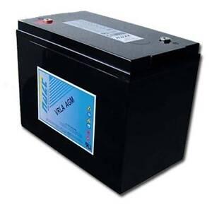 Two (2) Haze HZB6-160 Deep Cycle AGM Batteries Eumundi Noosa Area Preview