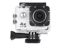 V3 4K WiFi Sport Camera 16MP - WHITE