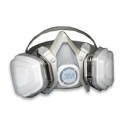3m 5000 Series Half Mask Ov Respirator - Large