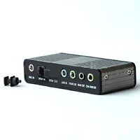 USB 2.0 to 5.1 Channel Speaker System Sound External Adapter
