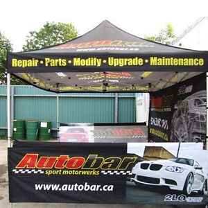 Outlet Tags Custom Canopy Tent Packages ONLY $599.99 Gatineau Ottawa / Gatineau Area image 2
