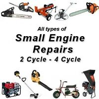Small Engine Repair - Innisfail - 403-304-0968