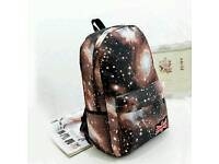 Back pack space effect brand new