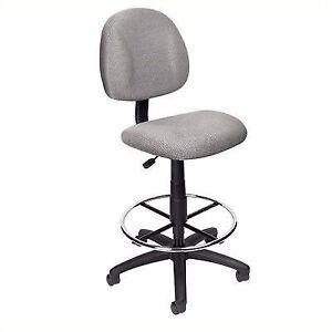 Marvelous Boss B1615 Drafting Stool With Footring Grey Creativecarmelina Interior Chair Design Creativecarmelinacom