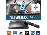 NEW★2017 600 MHZ NOWBOX M9S★REPLACES OPENBOX V8S SAT RECEIVER★