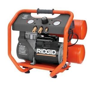 Ridgid twin stack portable air compressor (OF45150) $149.99