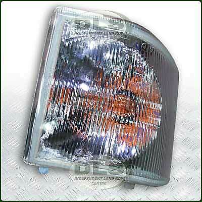 LH Front Clear Indicator Lamp Land Rover Discovery 1 VIN MA081992 on (XBD100770W