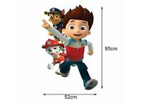 LAST ONE AVAILABLE!!!EXTRA LARGE LARGE PAW PATROL VINYL STICKER