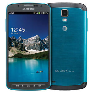 USED SAMSUNG S4 ACTIVE ORIGINAL UNLOCKED CELL PHONE 4G LTE.7/10 Cambridge Kitchener Area image 1