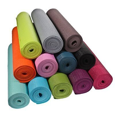 Buy wholesale fitness equipment - 12 Yoga Mats 6mm 24�x68� Non-slip Assorted Exercise Fitness Wholesale Bulk Lot