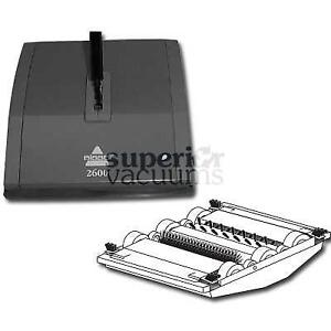 """Carpet Sweeper Natural Sweep 2 Roller 9"""" Wide Metal Cover 5 Year Warranty"""