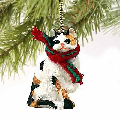 1 X Calico Cat Tiny One Christmas Ornament Calico Shorthaired