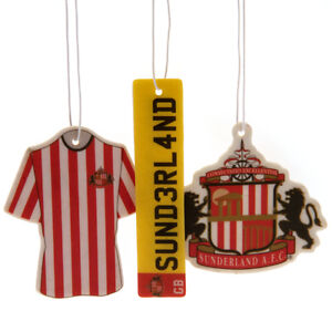 Official Football Club Crested CAR AIR FRESHENER (3 pack)