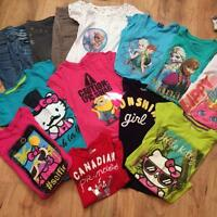 Loot of girls size 8 clothes