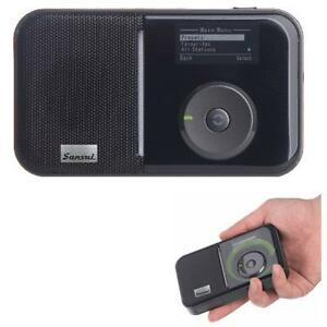 Sansui-DB-100-Portable-Radio-DAB-DAB-FM-Rechargeable-Battery-MP3-via-MicSD
