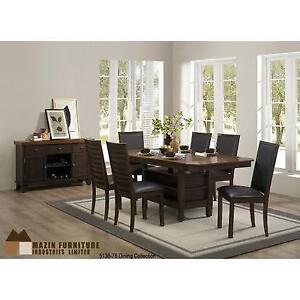 Solid Wood Dining Set with Storage (MA320)