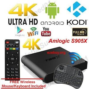 """NEW"" Penta core Android TV box Intro Special w FREE KEYBOARD"