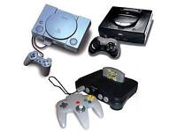Wanted broken or faulty games consoles