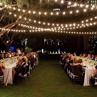 Led Festoon Light Hire Melbourne Wedding Amp Party Lighting
