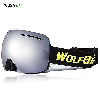 Ski Goggle, Wolfbike, Wide Spherical Dual Layer Lens Snowboard , Oversized.....