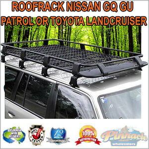 Steel-Powder-Coated-Roof-Rack-For-Nissan-GQ-GU-Patrol-Or-Toyota-Landcruiser