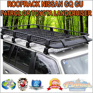 Steel Powder Coated Roof Rack For Nissan GQ GU Patrol Or Toyota Landcruiser