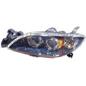 MAZDA 3 HEAD LAMP LH SDN W/HID 04-06 HQ