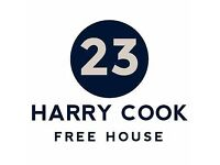 Supervisor - Harry Cook Free House, Cheltenham