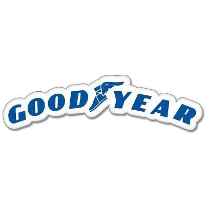 """Goodyear Racing car styling Vynil Car Sticker Decal  3"""""""