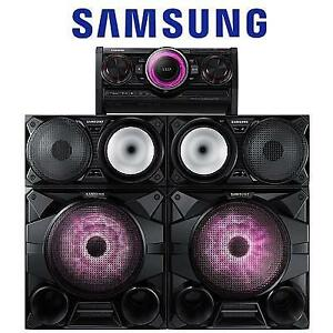 REFURB* SAMSUNG GIGA SOUND SYSTEM MX-HS7000 142342598 2300W 12'' SUBWOOFERS BLUETOOTH AUDIO HOME THEATRE