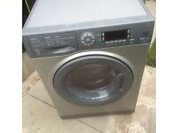 Hotpoint WDUD9640 9+6kg 1400 Spin Silver LCD Sensor Dry Washer/Dryer 1 YEAR GUARANTEE FREE DEL N FIT